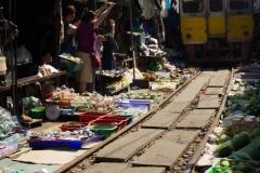 Mercado del Tren Tailandia
