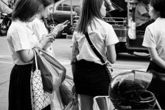 Gente de bangkok