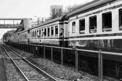 Tren hacia Ayutthaya