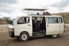Furgoneta Safari Kenia