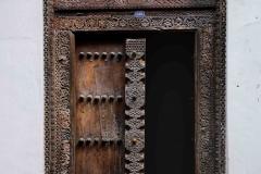 Puertas de madera de Stone Town