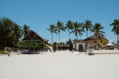 The waterfront Zanzibar beach hotel
