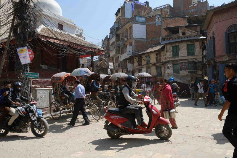 Barrio de Thamel Katmandú
