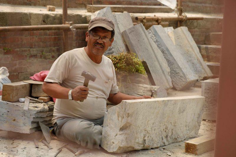 Patan templos reconstruccion