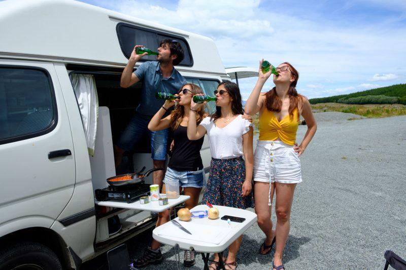 Comprar una campervan con frigorífico