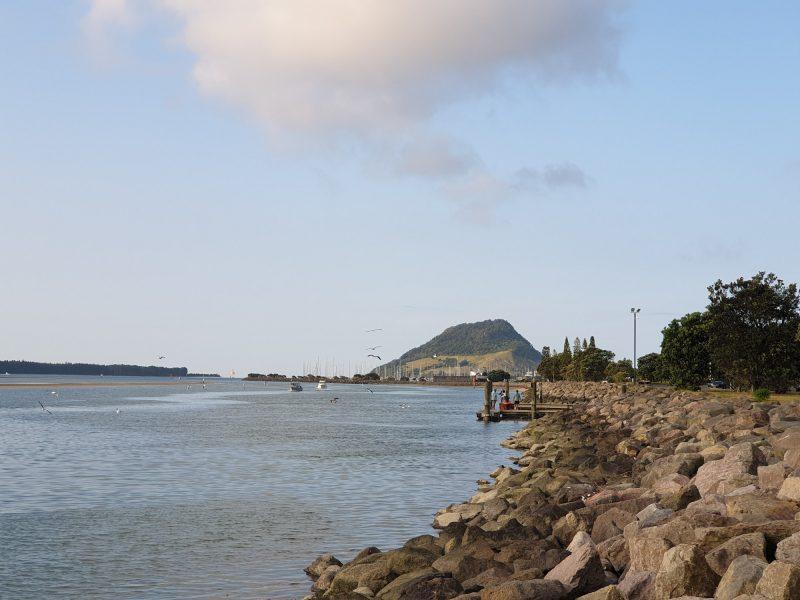 Tauranga y el Mt Manganui