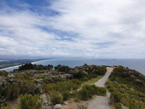 Vistas desde el Mt Manganui
